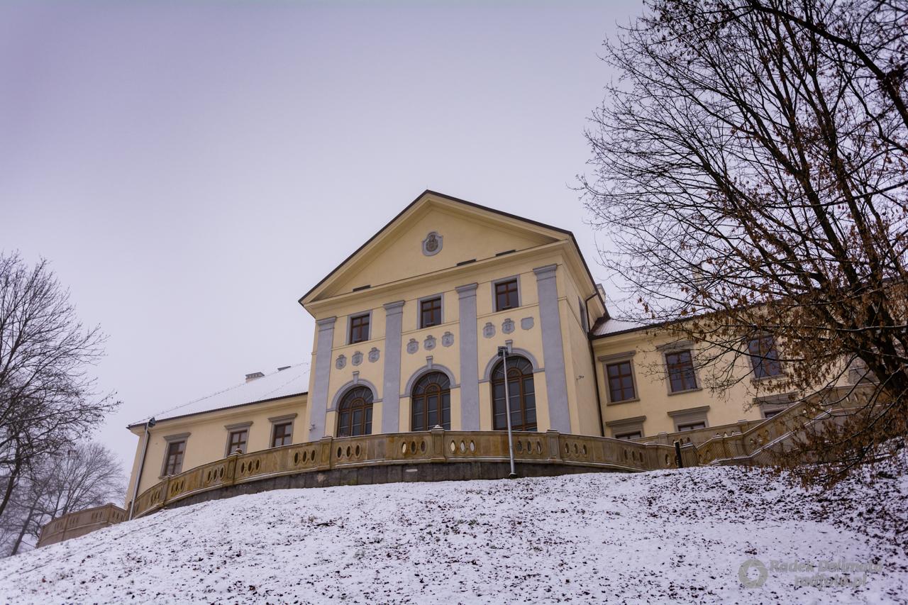 Zamek Tarnowskich w Dzikowie.