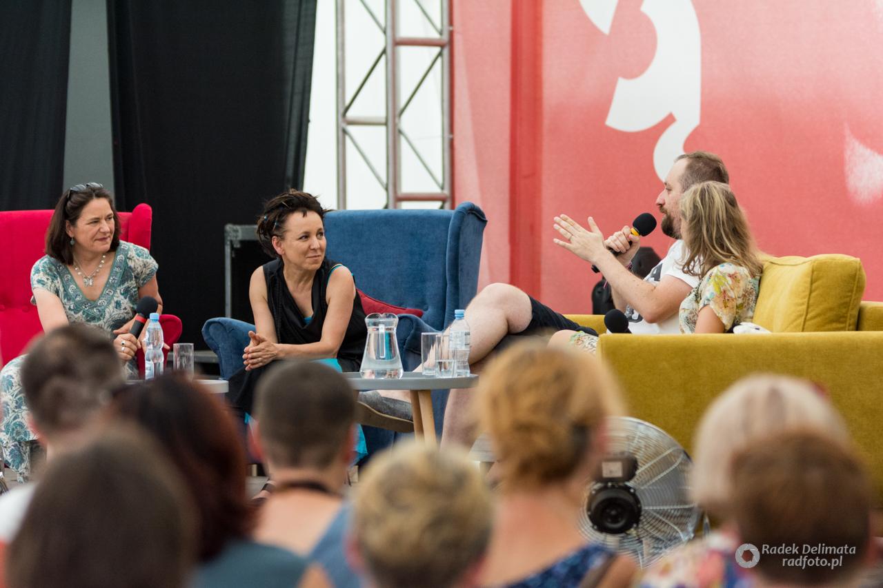 Spotkanie autorskie z Olgą Tokarczuk i Antonią Lloyd-Jones