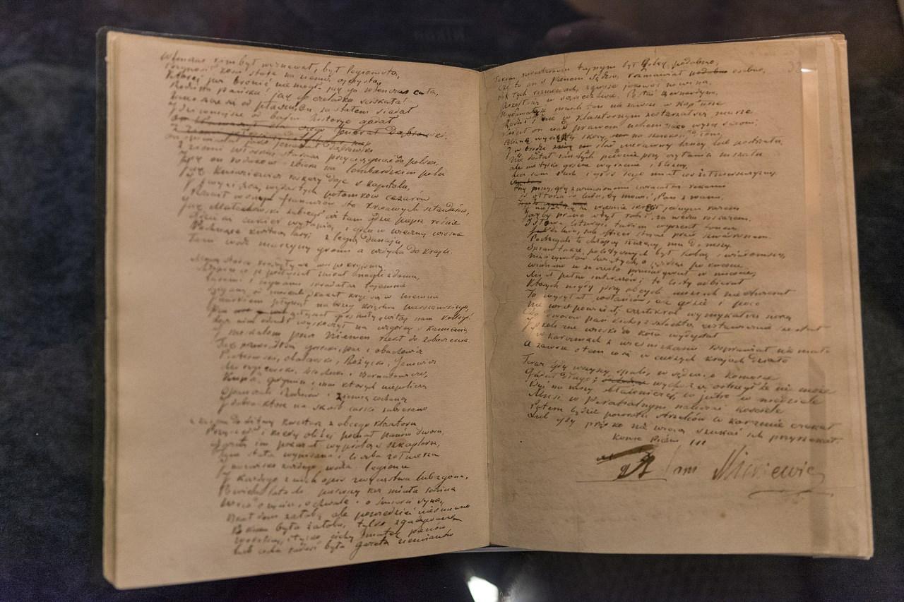 Pan Tadeusz - rękopis