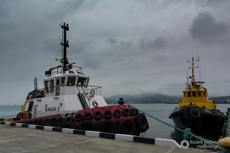Gruzja, Batumi port