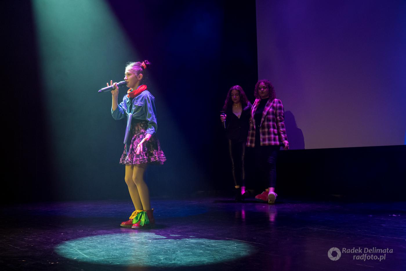 Wokalno-taneczny koncert w Baranowie Sandomierskim