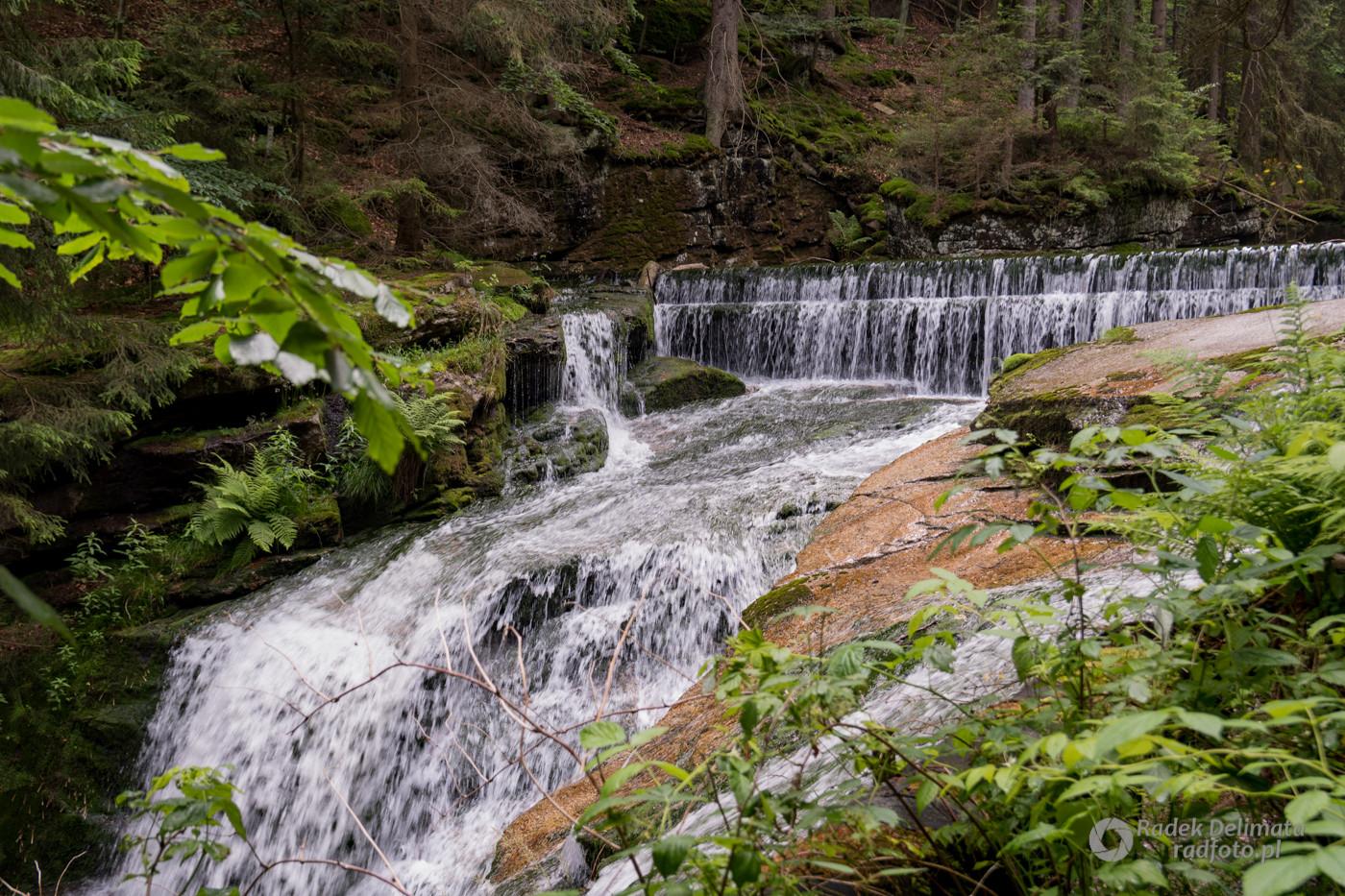 Szklarska Poręba obok Wodospad Szklarki